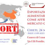 Workshop: Esportazione alimentare in Cina_Comunicato stampa