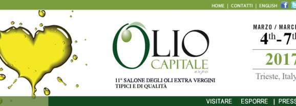 Invito a partecipare a Olio Capitale, Trieste 4-7 marzo 2017