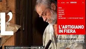 Iscrizioni aperte per espositori – L'Artigiano in Fiera, Milano 1 – 9 dicembre 2018