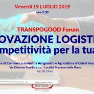 Save the date! Innovazione logistica: nuova competitività per la tua impresa_Chieti, 19 luglio ore 9.30