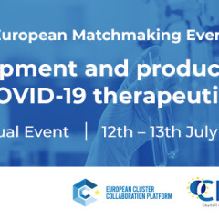 """B2B Virtuali: """"Development and production of COVID-19 therapeutics"""" – 12/13 luglio 2021"""