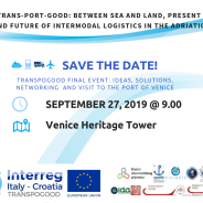 Save the date! Conferenza finale TRANSPOGOOD, 27 settembre 2019, Maghera (Venezia)